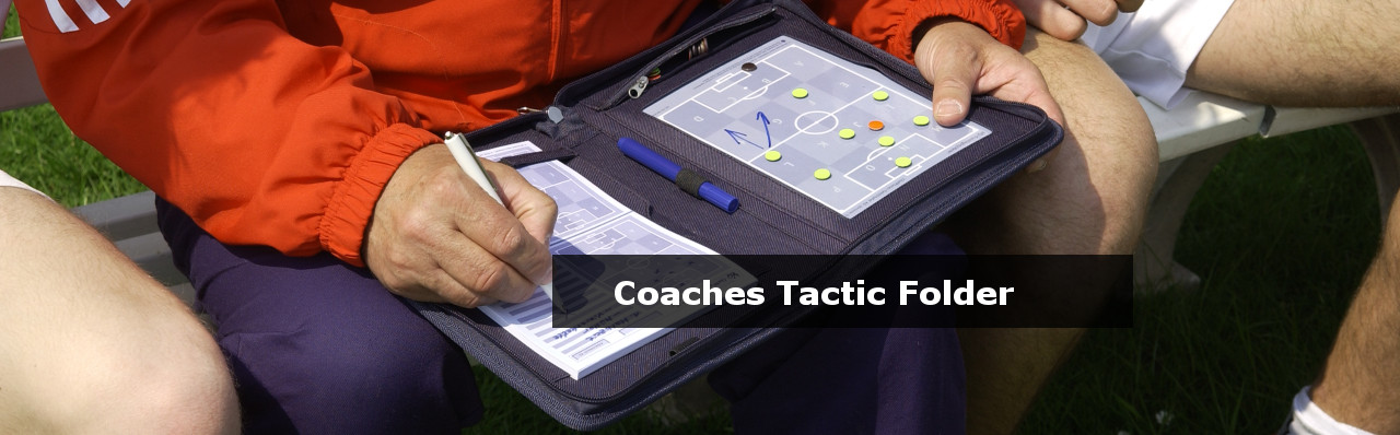 Football coaches tactic folders